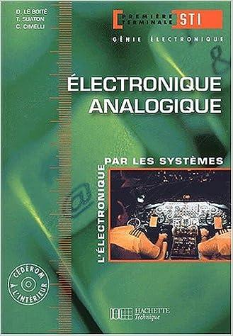 Electronique Terminale Sti Genie Electronique 2 Analogique