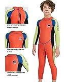 Neoprene Kids Wetsuit for Boys Girls 2.5MM One Piece Full...
