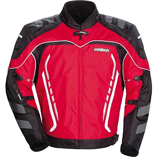 Cortech GX Sport 3 Mens Red/Black Textile Jacket - 3X-Large