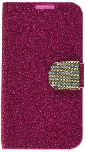 MyBat Samsung Galaxy S4 MyJacket with Diamante Belt - Retail Packaging - Hot Pink