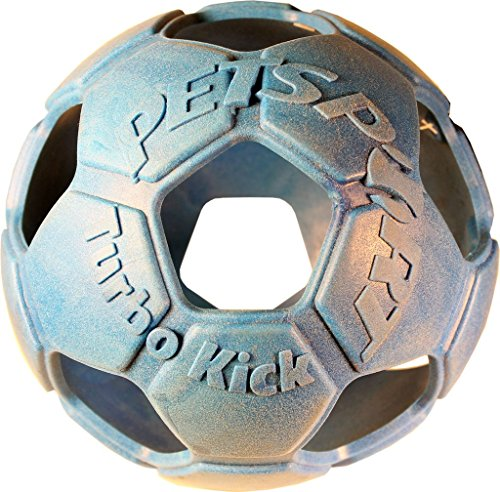 PetSport Turbo Kick Soccer Ball, 4-Inch, Assorted Colors