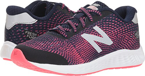 New Balance Girls' Arishi Next V1 Running Shoe, Pigment, 2 M US Little Kid