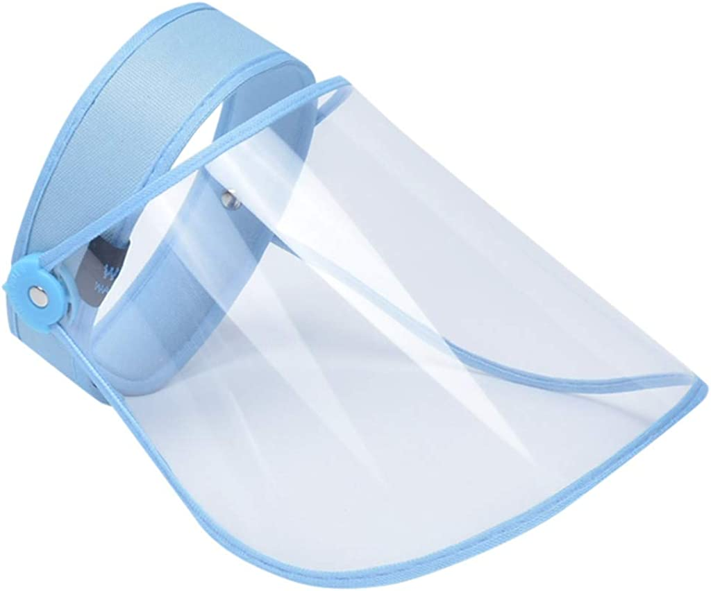 Protective Visor Anti Droplet Dust-Proof Protect Foam Headband Transparent Cover