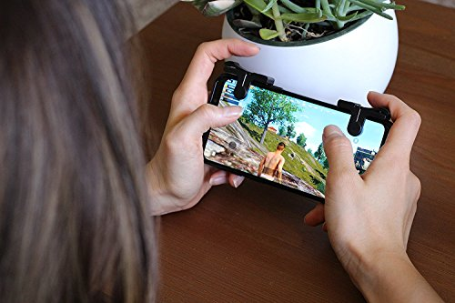 Mobile Game Controller [Upgrade Version] - WeeDee Fortnite PUBG Mobile Controller with Gaming Trigger,Gaming Grip and Gaming Joysticks for 4.5-6.5inch Android iOS Phones by WeeDee (Image #8)