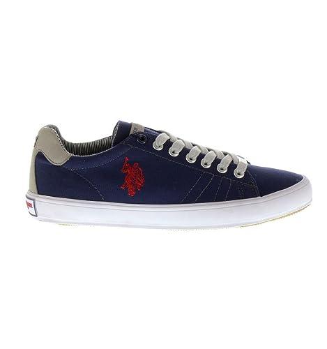 Zapatillas U.S. Polo Assn Leigh-Canvas Azul Marino - Color - Azul ...