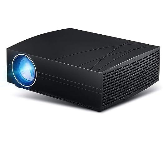 Wangchengtyy Proyector portátil Mini HD para Cine en casa ...