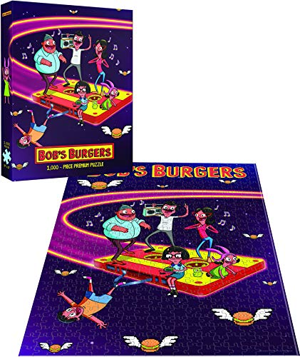 Bob's Burgers Belchers in Space Puzzle 1000 Premium Puzzle | Fox Bobs Burgers TV Show Collectable Jigsaw Puzzles