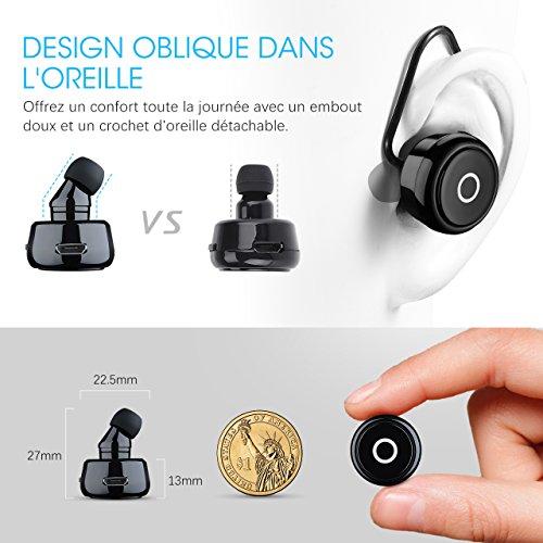 delicate [Mini Oreillette Bluetooth 4.0]