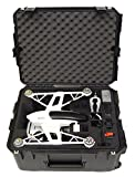 Microraptor Pro Case - Hard Carry Case fits the Yuneec Q500 and accessories (Black Case, Black Foam)