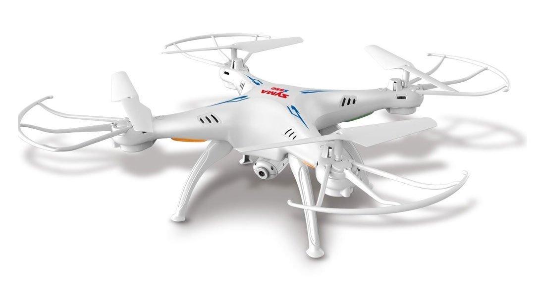 Vortex Toys SYMA X5SC Explorers-2 2.4G 4CH 6-Axis Gyro RC Headless Quadcopter / Drone 2MP HD Camera(Black / White)