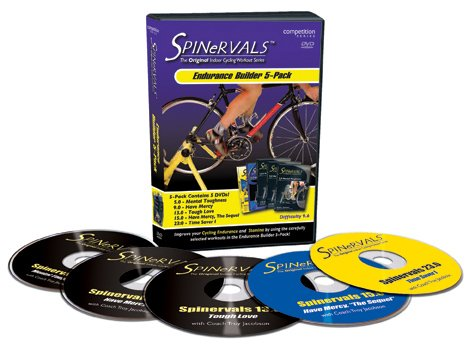 Spinervals Endurance Builder 5-pack DVD by Spinervals