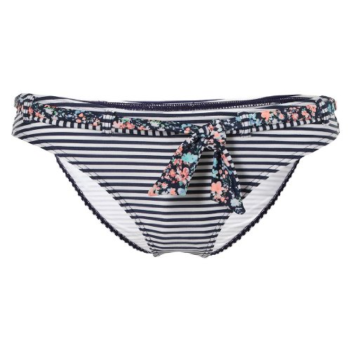 O'Neill - Parte de abajo de bikini para mujer, tamaño 40 UK Blue Aop With Blue