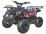 Icebear Monster 125cc Kids ATV Green Camo with Net