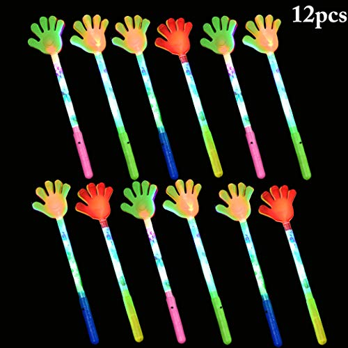 B bangcool 12PCS Hand Clapper Creative Children Toy with Light for Party -