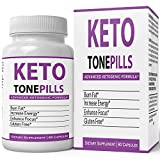 Keto Tone Pills Weightloss Supplement Keto Diet Tablets - Fire Up Your Fat Burning | Advanced Fat Loss Formula Pills for Women and Men Natural Weight Loss Pastillas Original by nutra4health Brand