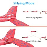 "2 Pack Airplane Toys, Upgrade 17.5"" Large Throwing"
