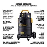 Vacmaster Pro 8 gallon Certified Hepa Filtration