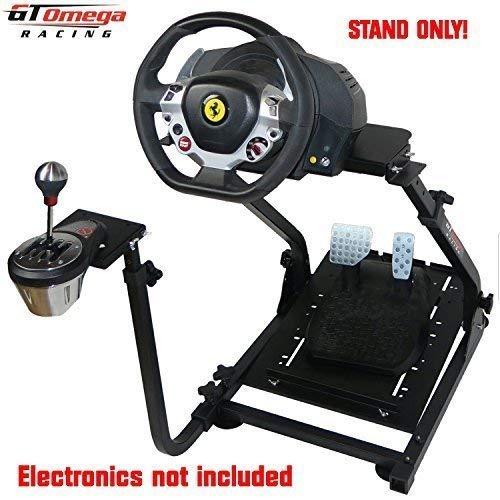 GT Omega Lenkradständer PRO für Thrustmaster TX Racing Laufrad Ferrari 458 Italia Edition & TH8A Shifter Mount V1 Xbox One -