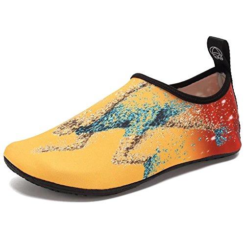 CIOR Water Shoes Barefoot Quick-Dry Aqua Yoga Socks Slip-on For Men Women Kids Running