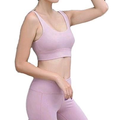 Andopa Yoga Comodidad-Blend Flex Ajuste pulóver sujetador de ...