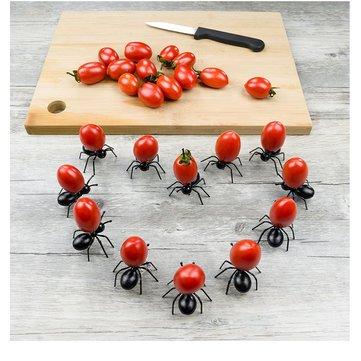 12pcs Cute Ant Fruit Fork DIY Novelty Eco-friendly