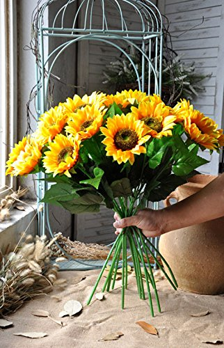 Charmly-Artificial-Sunflowers-5-Pcs-Long-Stem-Fake-Sunflowers-Artificial-Silk-Flowers-for-Home-Hotel-Office-Wedding-Party-Garden-Decor-235-High
