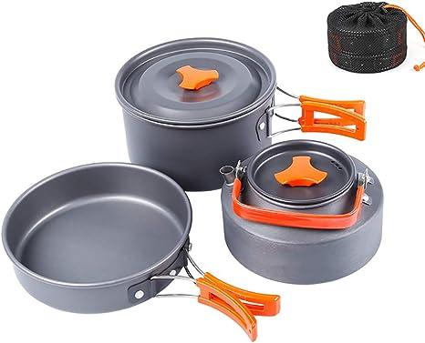 Utensilios De Cocina para Camping para 3 O 4 Personas ...