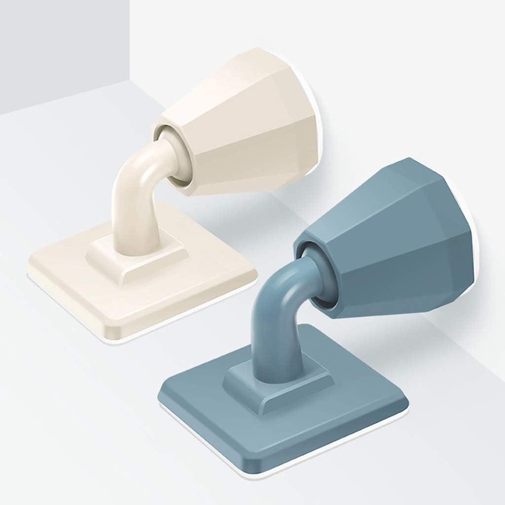 Guoguocy Door Stops Door Stop,Door Touch Mute Door Suction,Anti-Collision Home Door Stop,Bathroom Toilet Door Touch Color : B