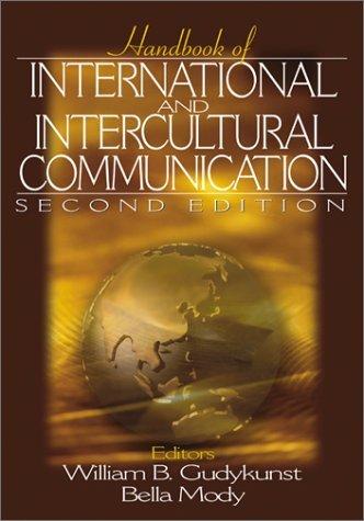Handbook of International and Intercultural Communication:2nd (Second) edition PDF