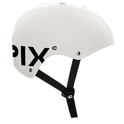 Capix 2012 Basher Skate Helmet (White Gloss, Large/X-Large) : Skate And Skateboarding Helmets : Sports & Outdoors