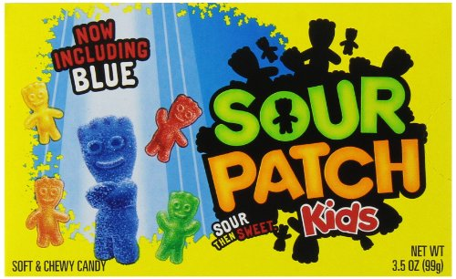 - Sour Patch Kids Theatre Size Boxes (Pack of 12)