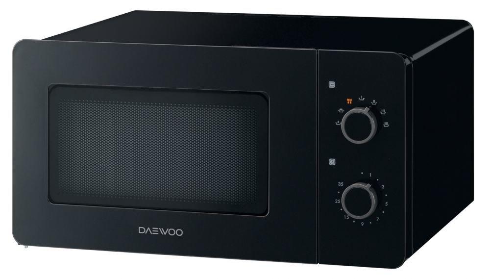 Daewoo KOR-5A17B Encimera Solo - Microondas (Encimera, Solo ...