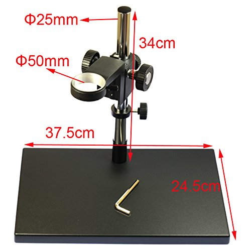 Big Heavy Duty Metal Boom Stereo Microscope Camera Table Stand Holder 50mm Ring by hayear (Image #4)