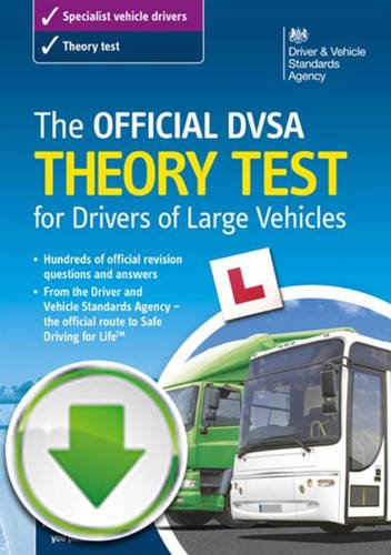 The official DVSA theory test for drivers of large vehicles interactive download (2014 edition)
