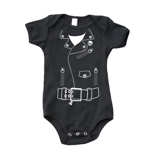 393dc3e01 Amazon.com  Express Design Group Biker Jacket Onesie  Clothing