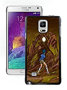 Fashion Custom Designed Tree Monster Samsung Galaxy Note 4 Black Phone Case CR-667