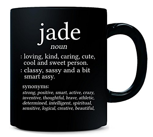 (Jade Meaning. Dictionary Format. Funny Gift - Mug)