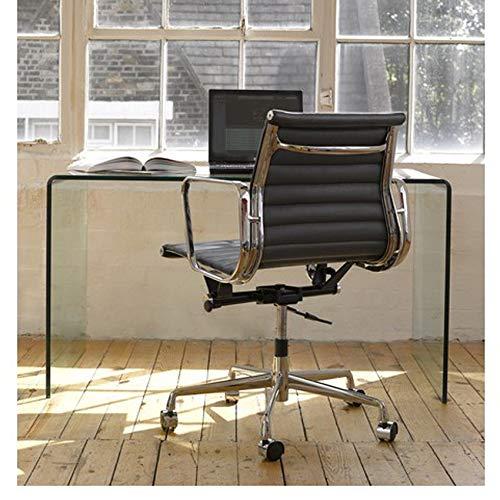 Hogar Decora Mesa de Escritorio Cristal Curvado 12mm Transparente ...