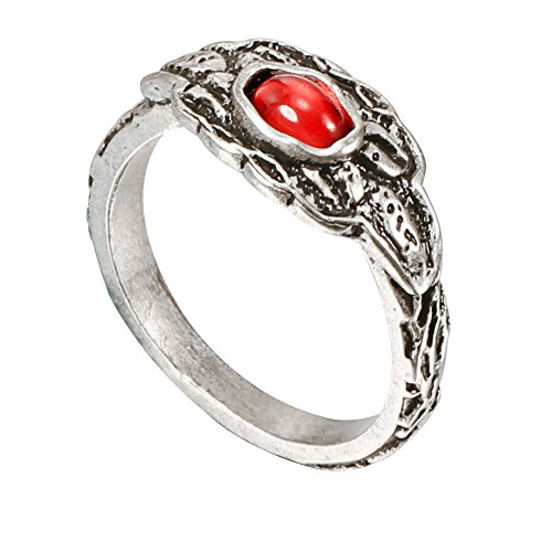 XCOSER Life Ring Set Collection Costume Accessories for Mens Halloween Gift L -