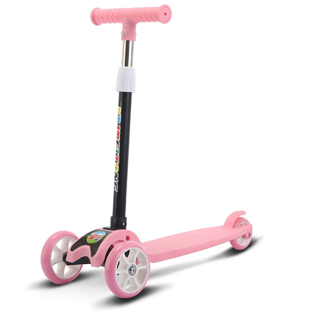 GJF Scooter para niños yo-yo portaobjetos Plegable portátil