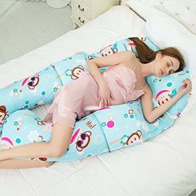 DEG Almohadas De Embarazo Almohada para Dormir Lateral de la ...