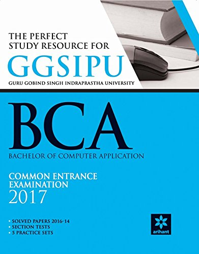 buy the perfect study resource for ggsipu bca common entrance test rh amazon in bca entrance exam study material Entrance Exam Practice Test
