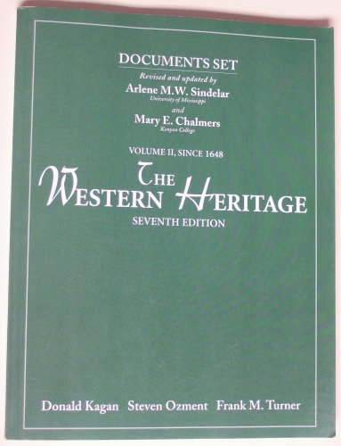 Western Heritage Since 1648 Vol 2 Doc Set