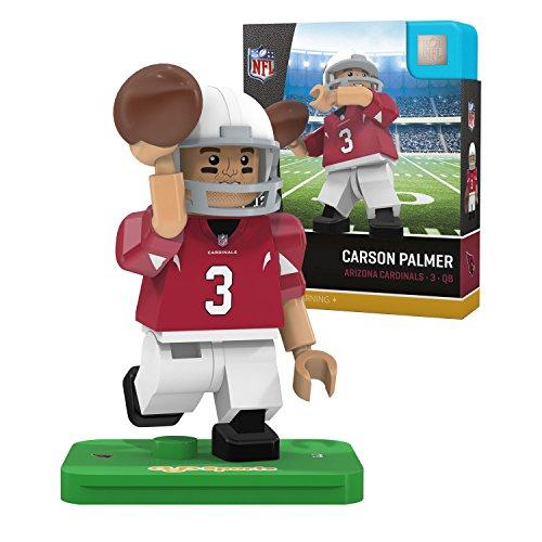 NFL Arizona Cardinals Gen4 Limited Edition Carson Palmer Mini Figure, Small, White