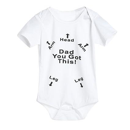 6cc2ec930 Amazon.com  Appoi Toddler Infant Newborn Baby Cotton Romper Jumpsuit ...
