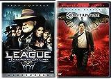 The League of Extraordinary Gentlemen DVD + Constantine Comic Sci-fi set