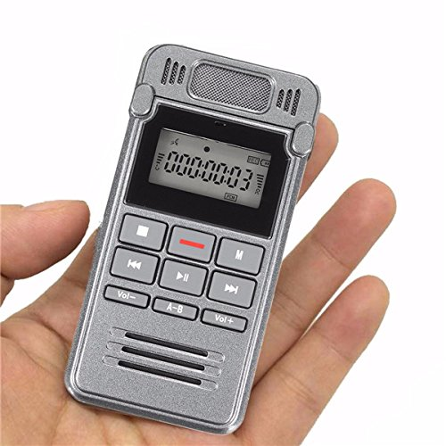 560 hrs Record Time LCD Digital Voice Rechargeable Audio Smart Recorder Dictaphone With MP3 Player