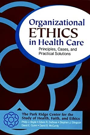 ethics in health care John j conley lecture on ethics and philosophy health care reform: ethical foundations, policy, and law robert m sade, md, facs health care system reform has enormous implications for.