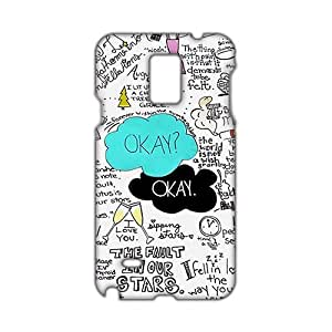 Angl 3D Case Cover The Fault in Our Stars Phone Case for Samsung Galaxy Note4