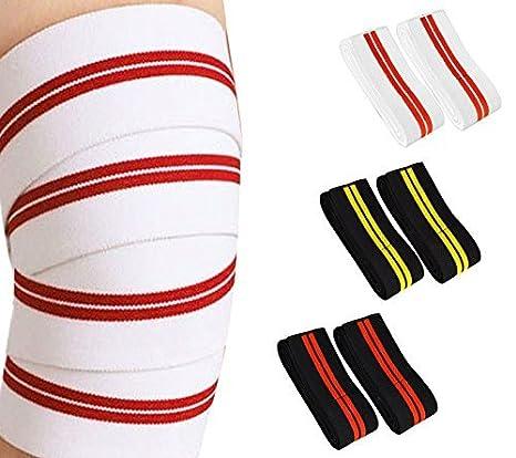 Prime rodillera papelinas levantar pesas 2 Meter tiempo 7,62 cm ancho correa Elasticated gimnasio